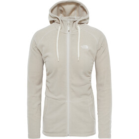 The North Face Mezzaluna Full Zip Hoodie Dam vintage white stripe